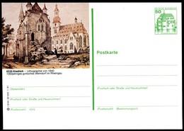 75464) BRD - P 134 - I3/44 - * Ungebraucht - 6229 Kiedrich - Ortsansicht Lithogaraphie - BRD