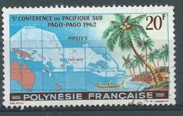 Polynésie Française  -  Yvert N° 17 Oblitéré  -   Po 62804 - Polynésie Française