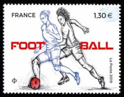"""France 2019 -  Football **  (du Bloc """"SPORTS Couleur Passion"""") - France"""