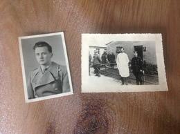 2 Photos Militaire Militaria Stalag 2b Voir Les 2scans - Militaria
