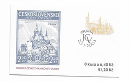 2003 MNH  Ceska Republika, Booklet Mi  346  MH105 - Tchéquie