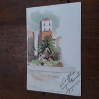 Cartolina Postale IIllustrata 1900, R. Lentini, Palermo - Künstlerkarten