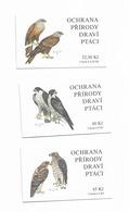 2003 MNH  Ceska Republika, Booklets Mi  374-6  MH110-12 - Tchéquie