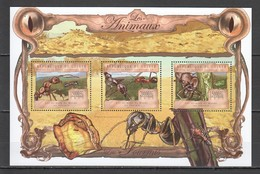 ST1402 2013 GUINEE GUINEA FAUNA INSECTS ANTS LES FOURMIS KB MNH - Insects