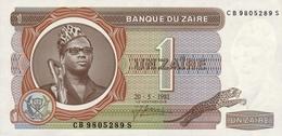 Zaire  1 Zaire (1981) Pick 19b UNC - Zaire