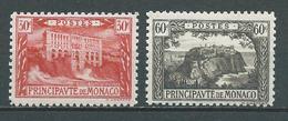 MONACO 1923 . N°s 56 Et 59 . Neufs ** (MNH) - Neufs