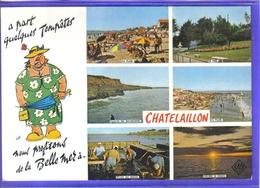 Carte Postale 17. Chatelaillon  Très Beau Plan - Châtelaillon-Plage