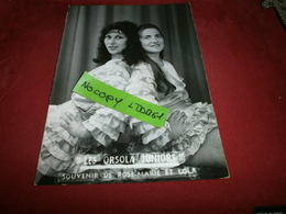 Photographie > Photos > Photos - Originales > Célébrités Les Orsola Juniors Souvenir De Rose Marie Et Lola - Personalidades Famosas