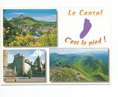 15 - Carte à Trou, CANTAL    (pied) - Frankreich