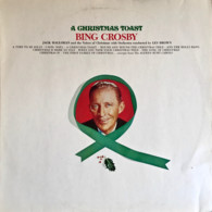 * LP *  BING CROSBY - A CHRISTMAS TOAST (Holland 1977 EX) - Christmas Carols