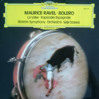 * LP *  MAURICE RAVEL - BOLERO / RAPSODIE ESPAGNOLE - BOSTON SYMPHONY ORCHESTRA / OZAWA - Klassiekers