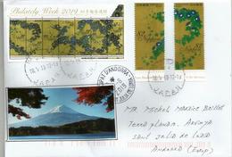 TOKYO METROPOLITAN ART MUSEUM, Letter 2019, Letter To Andorra, With Arrival Postmark - 1989-... Empereur Akihito (Ere Heisei)