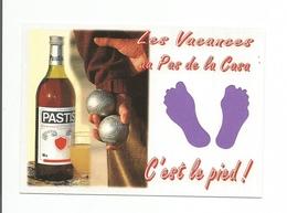 ANDORRE  - Carte à Trou, PAS  DE  LA   CASA     (pied) - Andorra
