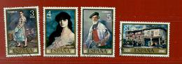 Espagne N° 1678 - 1679 - 1680 - 1681 - 1931-Aujourd'hui: II. République - ....Juan Carlos I