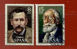 Espagne N° 1684 - 1685 - 1931-Aujourd'hui: II. République - ....Juan Carlos I