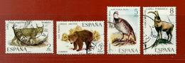 Espagne N° 1692 - 1693 - 1694 - 1695 - 1931-Aujourd'hui: II. République - ....Juan Carlos I