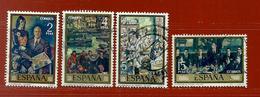 Espagne N° 1732 - 1734 - 1735 - 1738 - 1931-Aujourd'hui: II. République - ....Juan Carlos I