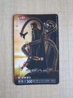 Prepaid Phonecard,movie Spideman 2,used - Taiwan (Formosa)