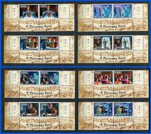 JERSEY 2012 Mi # 1687 - 1694 CHARLES DICKENS Stamp Set PAIR MNH - Jersey