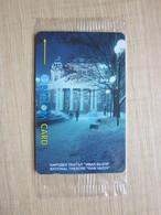 GPT Magnetic Phonecard,61BULB National Theatre-Ivan Vazov,mint In Blister - Bulgaria