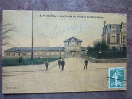 PIERREFITTE SUR SEINE   Les Ecoles De L' Avenue De Saint-Denis   TBE - Pierrefitte Sur Seine