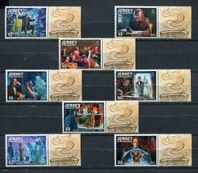 JERSEY 2012 Mi # 1687 - 1694 CHARLES DICKENS Stamp Set MNH - Jersey