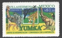Mexico - Mexique 1994 Yvert 1529A, Yumka Zoo, Villahermosa, Tabasco- Animals - MNH - México