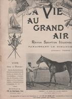 LA VIE AU GRAND AIR 21 10 1900 - ECURIE EPHRUSSI ROYALLIEU - AEROSTATION - CAMIONS - POLICE AGENT CYCLISTE - CORNEVILLE - 1900 - 1949