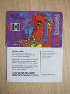 Chip Phonecard,painting, Used - Kaapverdische Eilanden