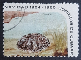 1964 Christmas, Starfish And Sea Urchins, Cuba, *,**,or Used - Gebraucht