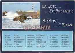 CPM La Cote En Bretagne - Bretagne