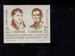779508506 1967 SCOTT 839 POSTFRIS  MINT NEVER HINGED EINWANDFREI  (XX) - BELGRANO - ARTIGAS - Neufs