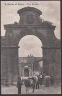 Italia  -  SAN MARTINO AL CIMINO, Porta Romana, 1917 - Viterbo