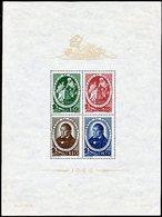 !■■■■■ds■■ Portugal S/S 1944 AF#6** Avelar Brotero (b0006e-) - Blocks & Sheetlets