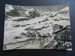 19941) VALLE D'AOSTA PROVINCIA CERVINIA BREUIL PANORAMA VIAGGIATA 1960 - Altre Città