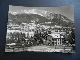 19941) VALLE D'AOSTA PROVINCIA COURMAYEUR PANORAMA SULLO SFONDO CORMET VIAGGIATA 1963 - Altre Città