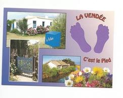 85-VENDEE   - Carte à Trou,      (pied) - Frankreich