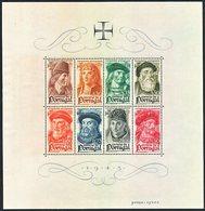 !■■■■■ds■■ Portugal S/S 1945 AF#7** Navigators (b0007e-) - Blocks & Sheetlets