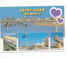 85 - Carte à Trou,SAINT JEAN DE MONTS (coeur) - Saint Jean De Monts