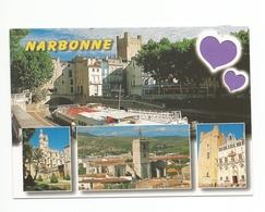 11 - Carte à Trou,  NARBONNE  (coeur) - Narbonne
