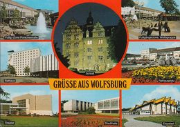 D-38440 Wolfsburg - Volkswagenstadt - Alte Ansichten - Quellekaufhaus - Gruss Aus.../ Grüsse Aus...