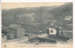CPA - Belgique - Rochefort - La L'Homme Et Le Château De Beauregard - Rochefort
