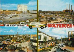 D-38440 Wolfsburg - Volkswagenstadt - Alte Ansichten - Railway - Fabrik - VW Golf - Gruss Aus.../ Grüsse Aus...