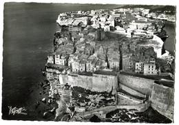 CPSM 20 (grand Format)  BONIFACIO Les Remparts 1955 (bords Dentelle) - Autres Communes