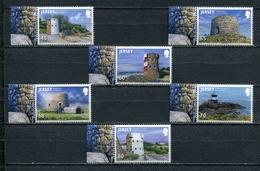 JERSEY 2012 Mi # 1676 - 1681 COASTAL TOWERS Stamp Set MNH - Jersey