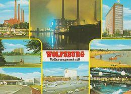 D-38440 Wolfsburg - Volkswagenstadt - Alte Ansichten - Fabrik - VW Golf - Gruss Aus.../ Grüsse Aus...