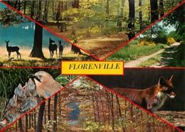 Belgique - Florenville - Multivues - Nid D'Oiseaux - Renard - Carte Neuve - Voir Scans Recto-Verso - Florenville