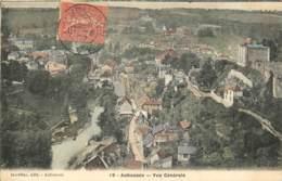 23 - AUBUSSON - Vue Geniale En Couleur En 1907 - Aubusson