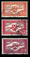 PORTUGAL  1936  - PA 2 - 3 - 6 - Oblitérés - Poste Aérienne
