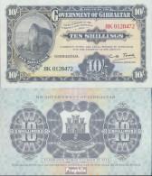Gibraltar Pick-Nr: 17ND Neudruck Bankfrisch 2018 10 Shillings - Gibraltar